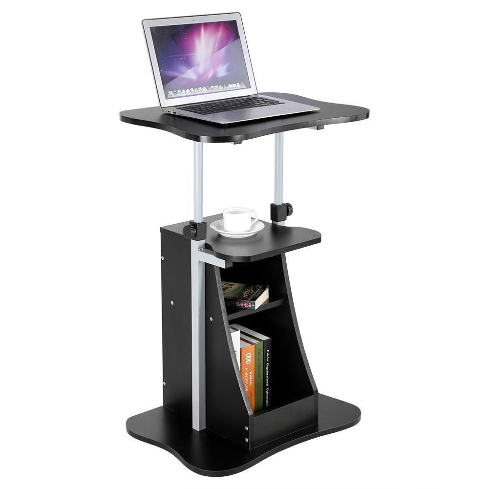 Height Adjule Standing Desk Sit Stand Office Laptop Computer