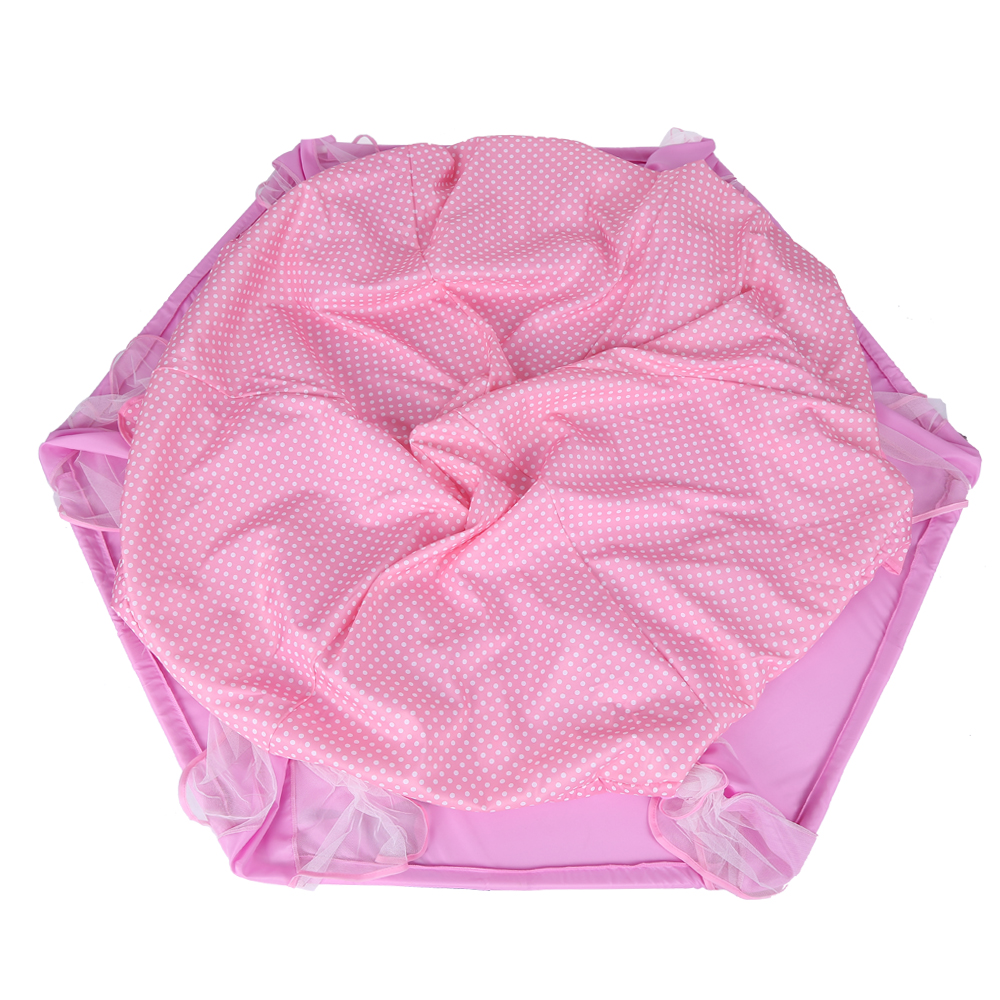 Girls Pink Princess Castle Playhouse Kid Play Tent In