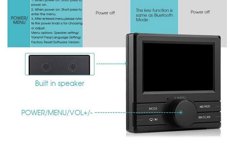 digital lcd auto dab dab radio receiver tuner fm. Black Bedroom Furniture Sets. Home Design Ideas