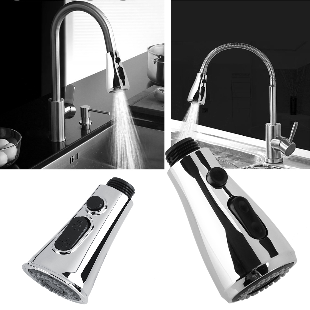 ABS Pull Out Faucet Sprayer Kitchen Bathroom Tap Shower Spray Head ...