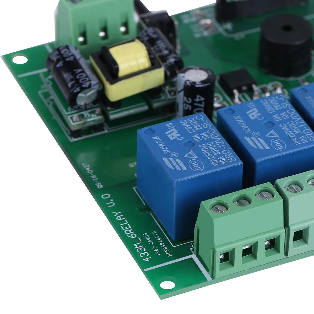 Details about 6 channel Relay Module with Remote Control RF Realy  Transmitter & Receiver stw