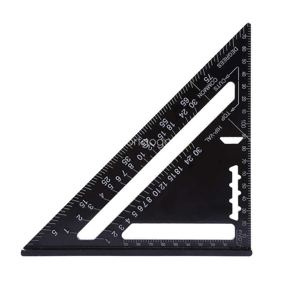 Metric Aluminum Alloy Speed Square Roofing Triangle Set
