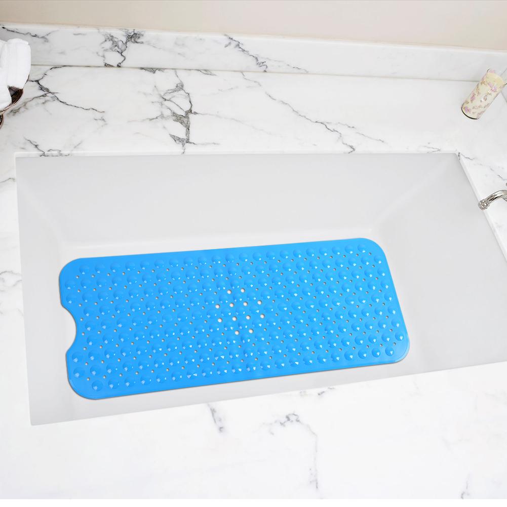 New Large Bath Tub Mat Non Slip Anti Skid Rubber Shower Safe ...