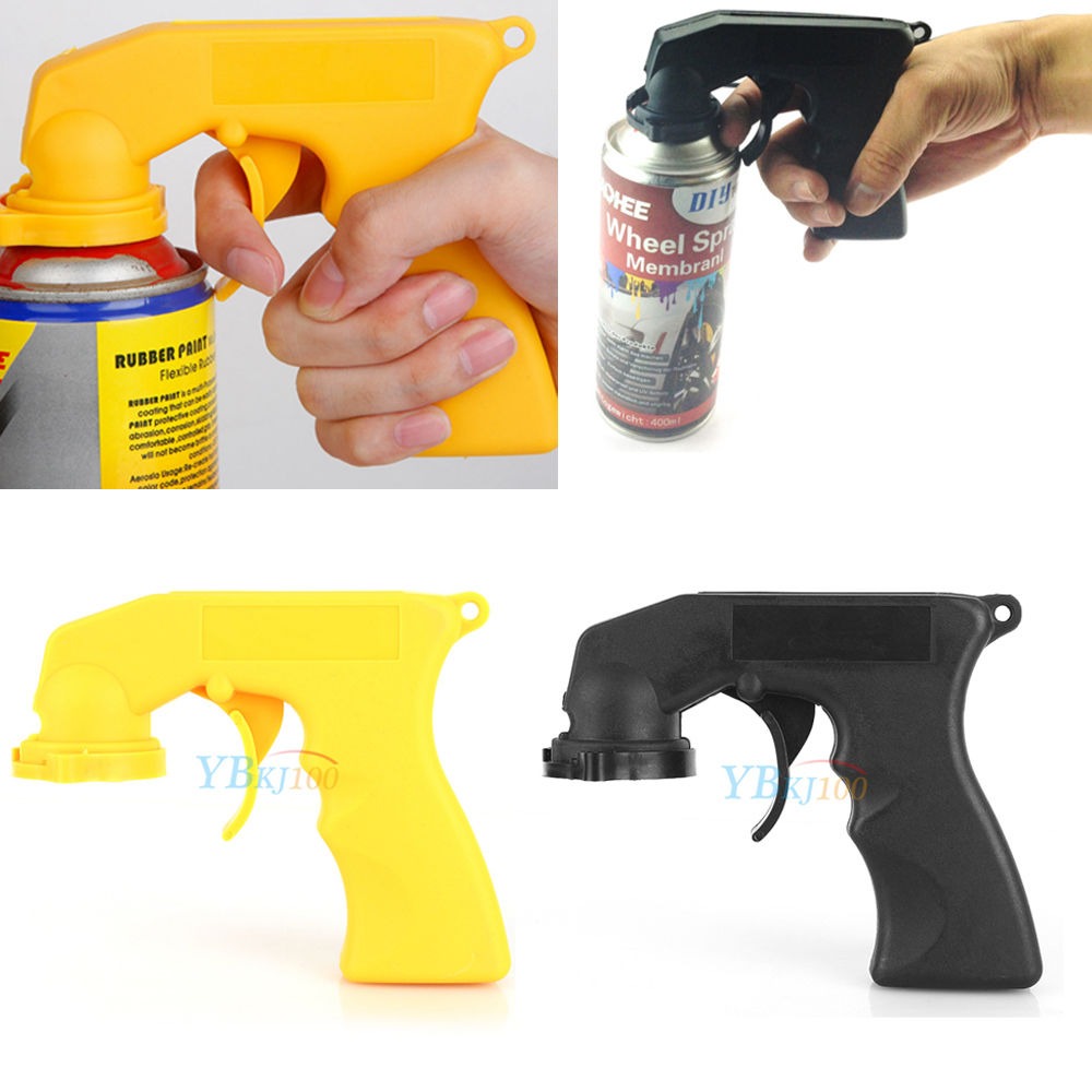 Automotive Aerosol Spray Painting Can Gun Handle With Full