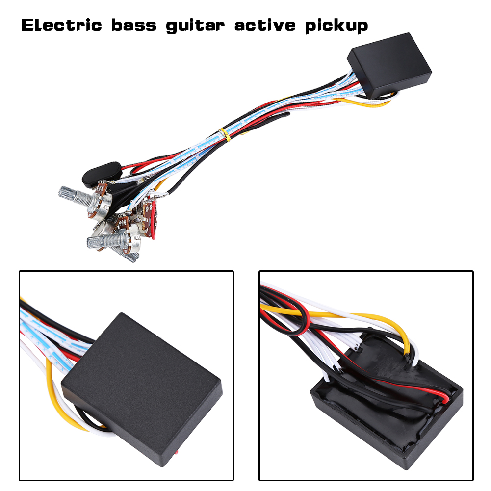 2 3 Band Eq Preamp Circuit Bass Guitar Dual Potentiometer For Active Activebass Wiring Pickups Pickup