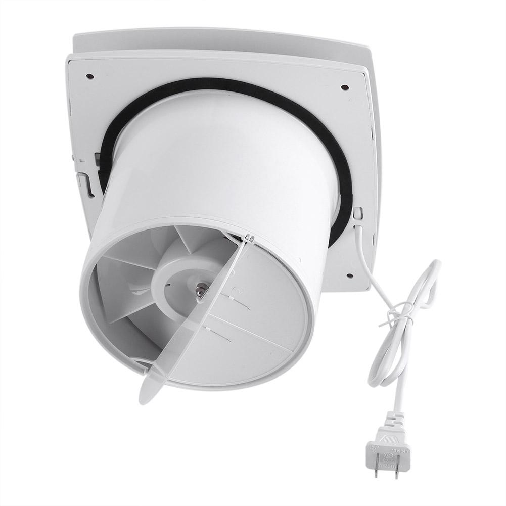 220v 205mm 22w ventilation exhaust fan home kitchen - Wall mounted exhaust fan for bathroom ...