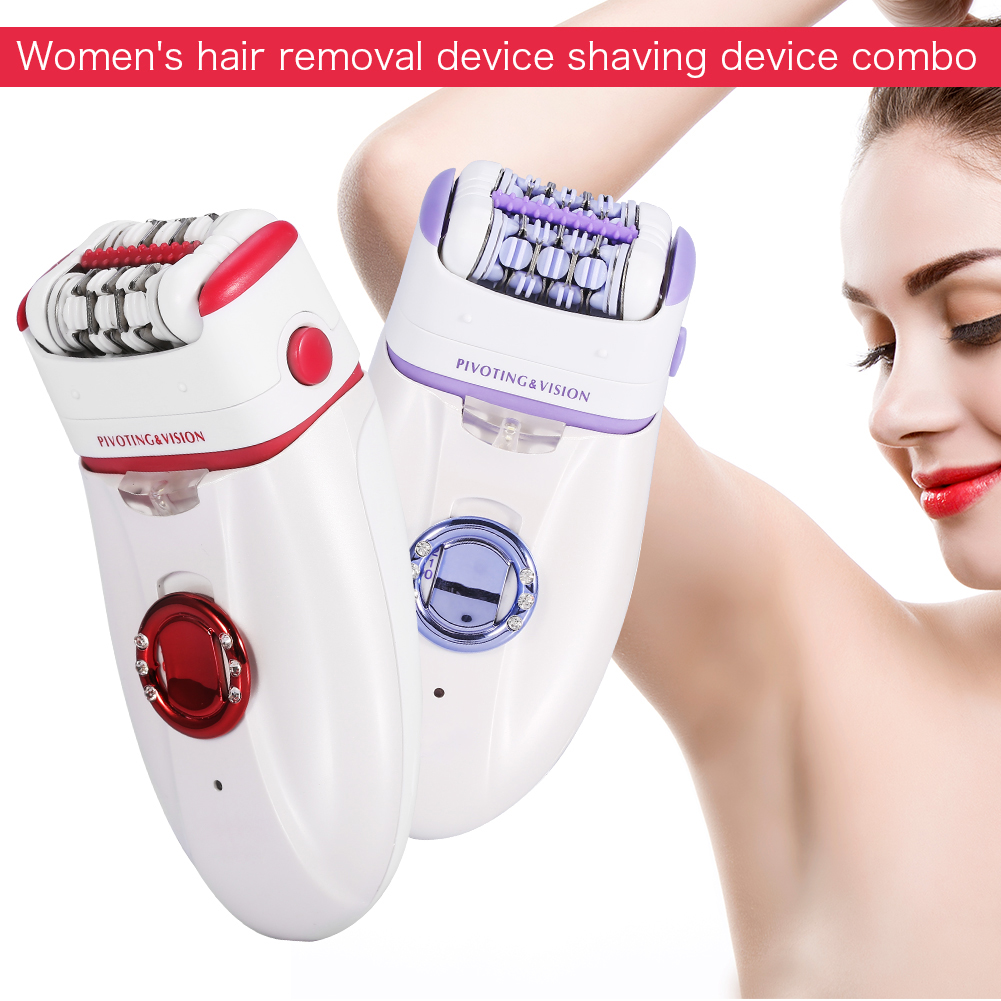 Women Electric Tweezer Body Armpit Facial Hair Remover Trimmer