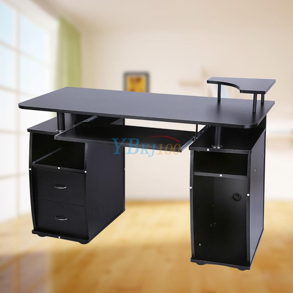 computertisch b rotisch pc tisch arbeitstisch b ro m bel. Black Bedroom Furniture Sets. Home Design Ideas
