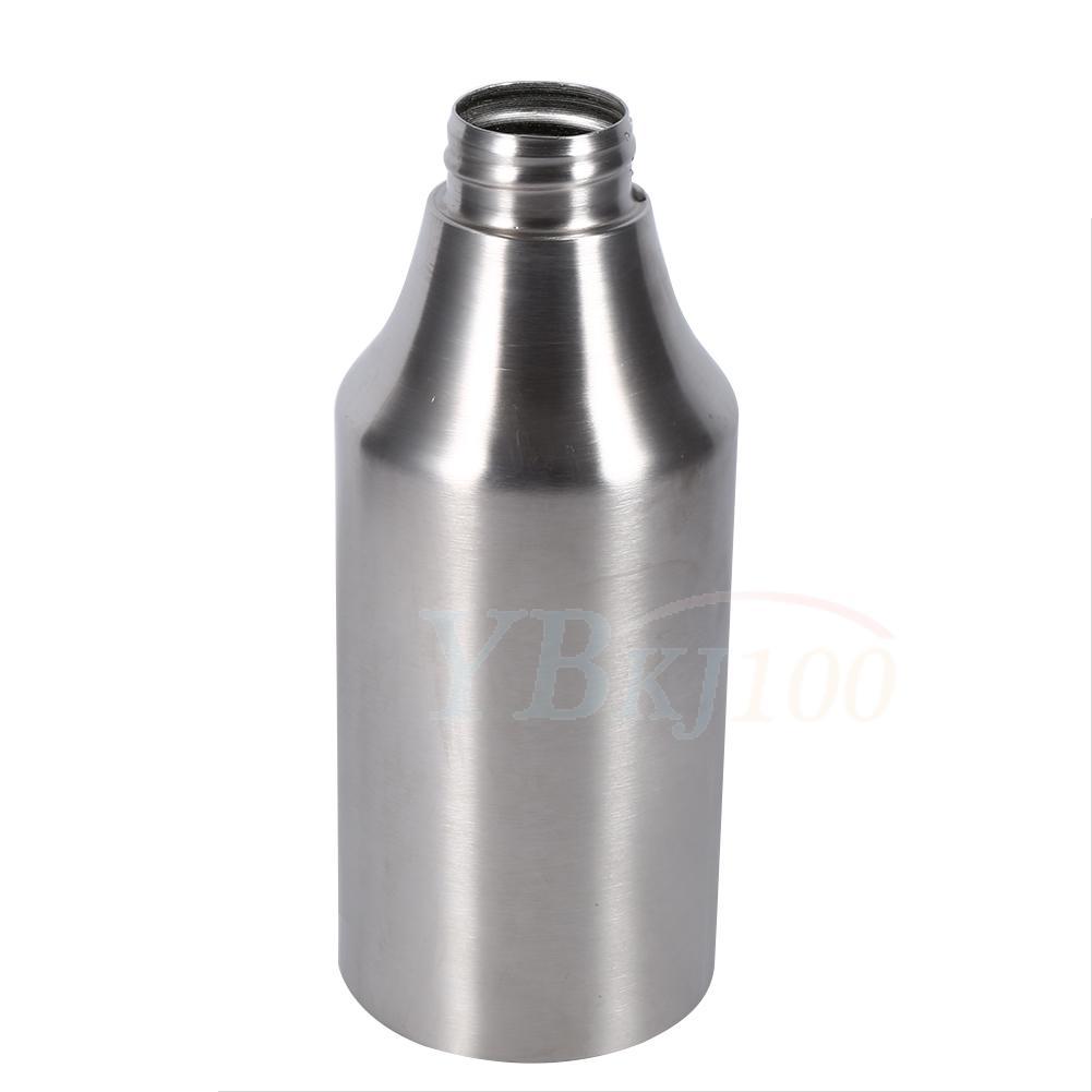 stainless steel olive oil bottle can drizzler vinegar dispenser jar kitchen tool ebay. Black Bedroom Furniture Sets. Home Design Ideas