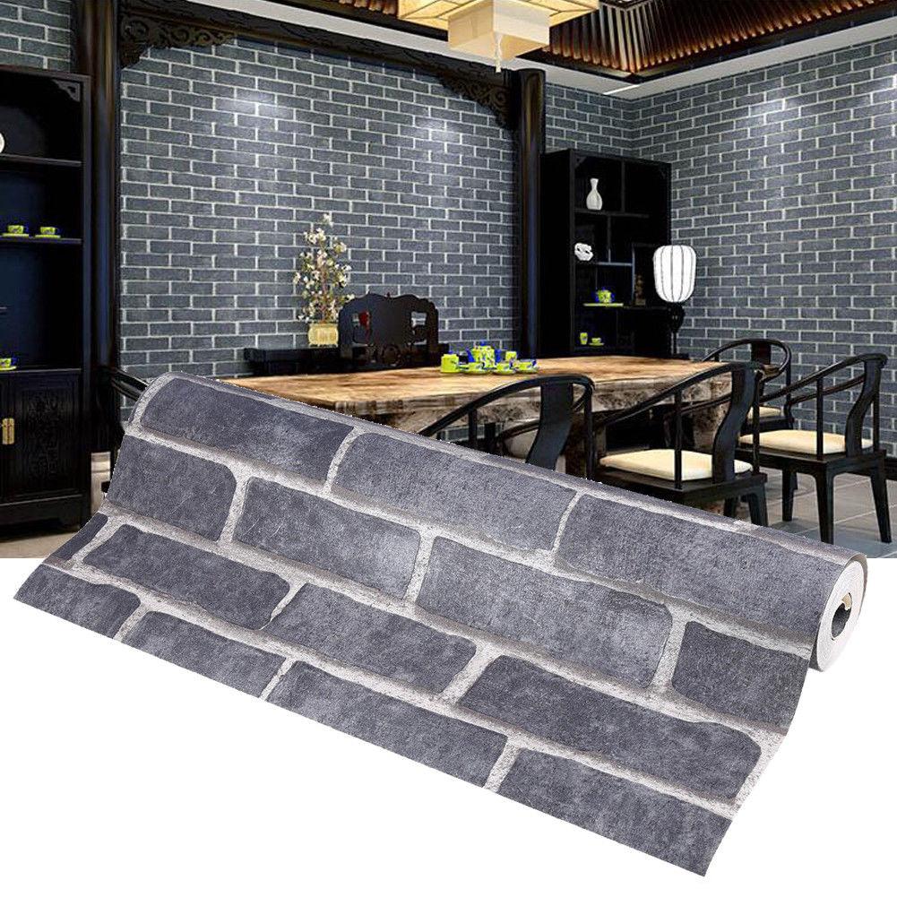 3d tapete vlies steinoptik steintapete wandtapete steinwand mauer optik muster a ebay. Black Bedroom Furniture Sets. Home Design Ideas