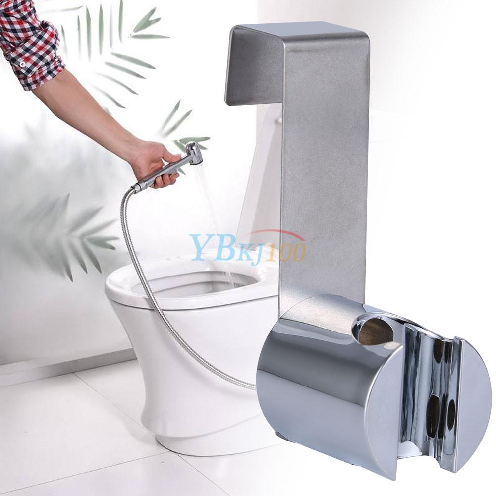 Charmant Stainless Steel+ABS Holder Hook Hanger For Hand Shower Toilet Bidet Sprayer  Home