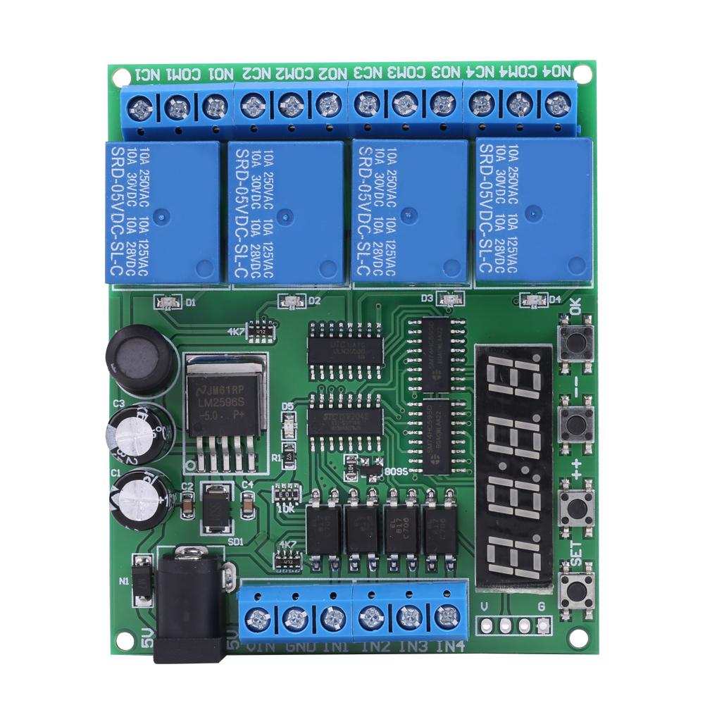Dc 5v 9v 12v 24v Modulo Temporizzatore Delay Timer Rele