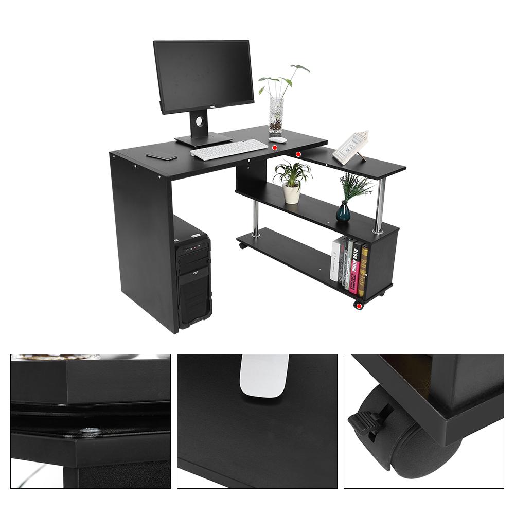 Computertisch eckschreibtisch winkschreibtisch for Computertisch eckschreibtisch