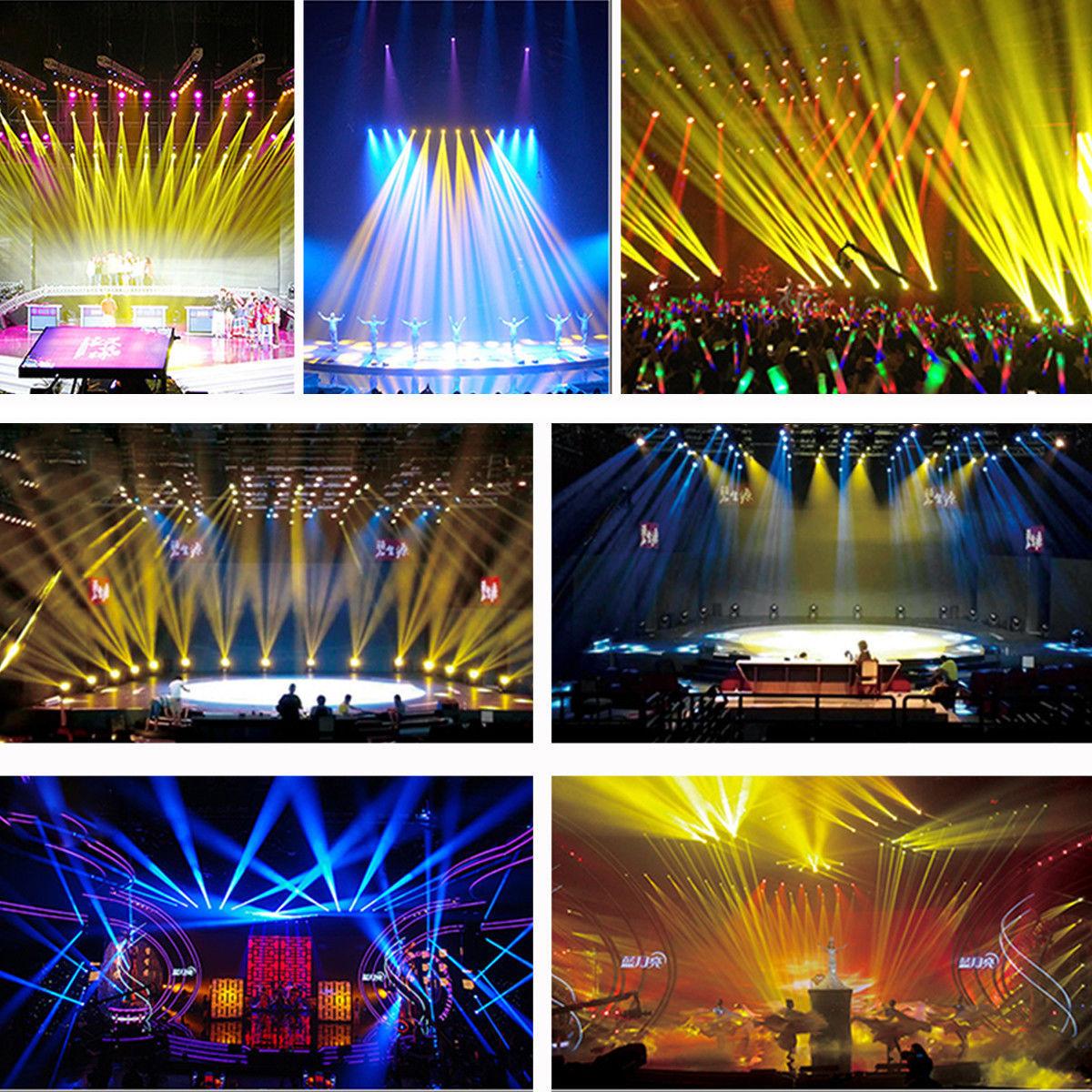 Soft 72W 36LED RGB Stage Light Flat Par Lamp Club DJ Party Disco