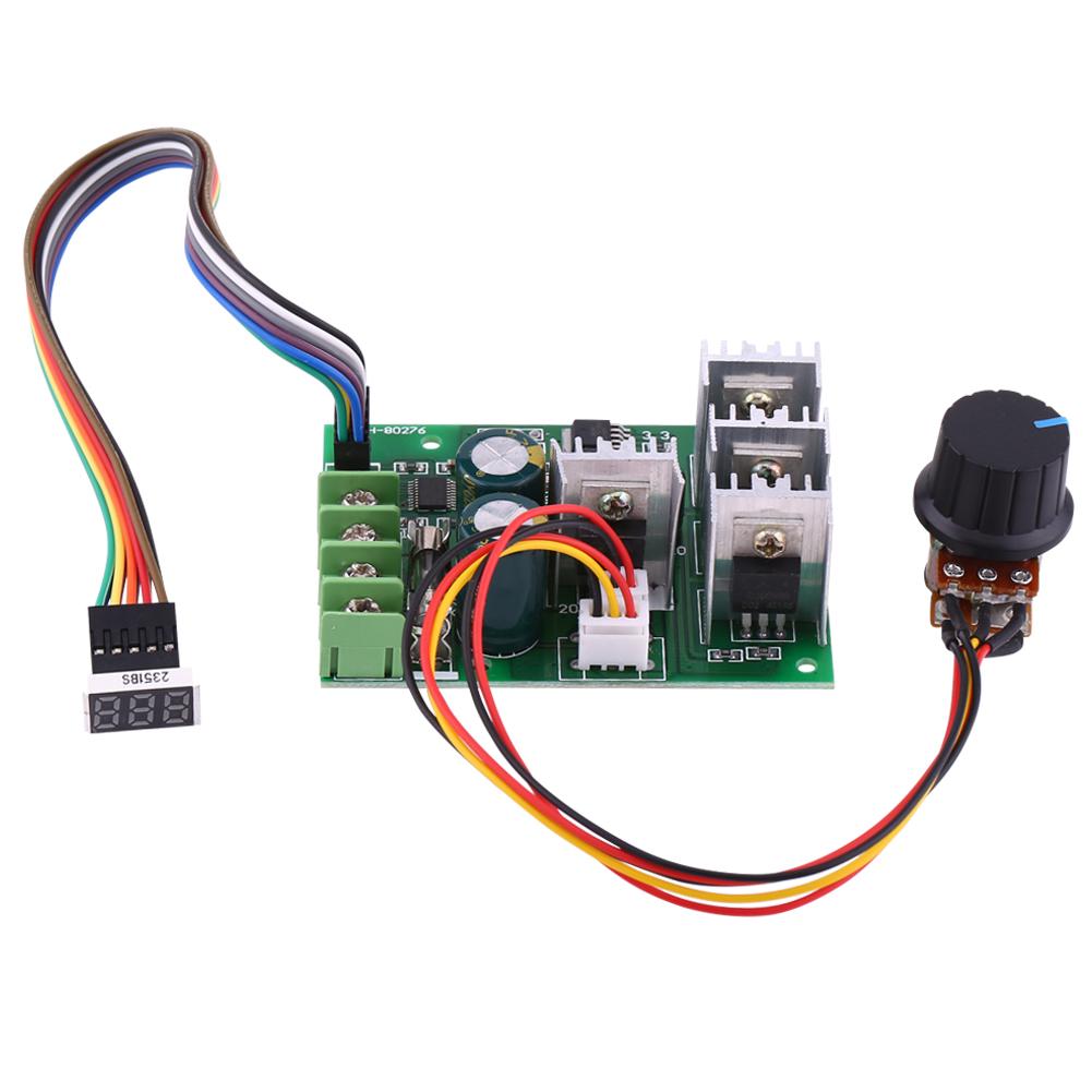 30A DC 12V 24V 36V 48V DC Motor Speed Controller Variable ...