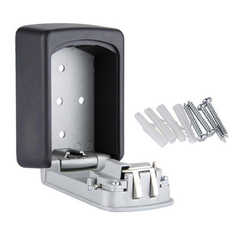 4 digit zahlenschloss schl sselsafe wand schl sseltresor. Black Bedroom Furniture Sets. Home Design Ideas