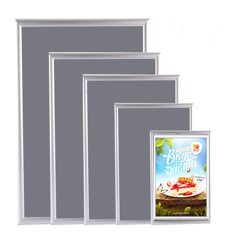 Aluminium A3 A4 Snap Poster Frame Clip Picture Photo