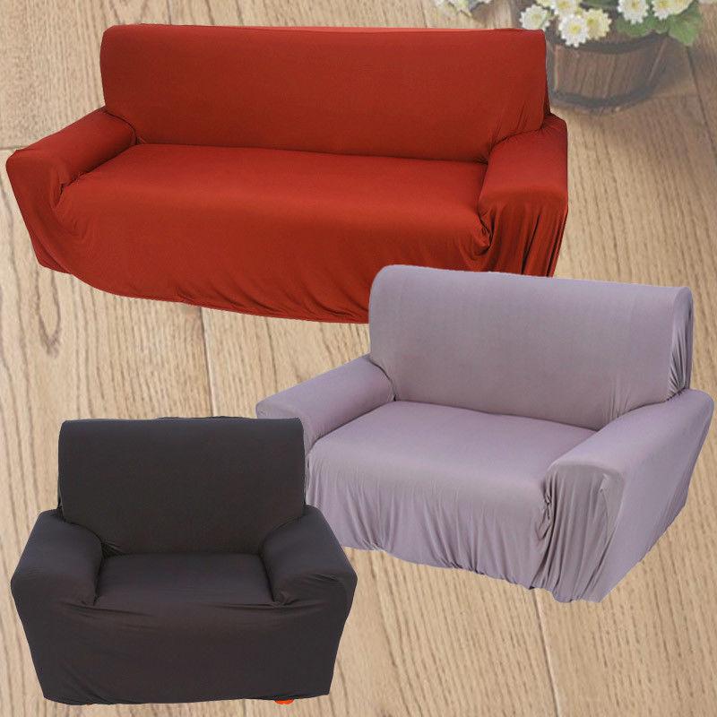 sofahusse stretchhusse sofaschoner 1 3 sitzer 3 farbewahl polyster m belschutz ebay. Black Bedroom Furniture Sets. Home Design Ideas