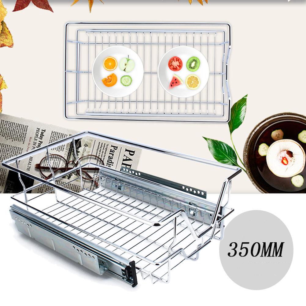 Küchenschublade Teleskop Küchenschrank 350mm Korbauszug Schublade ...