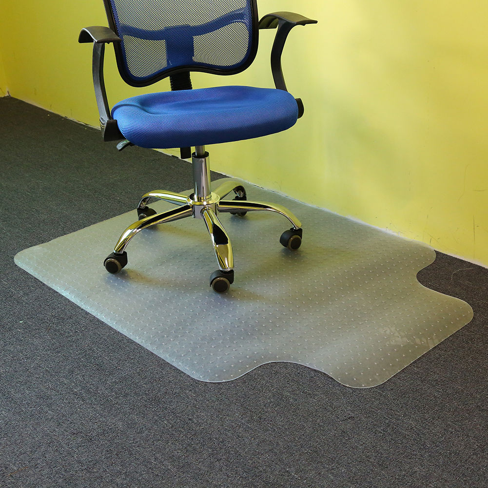 Universal Plastic Office Computer Chair Floor Vinyl