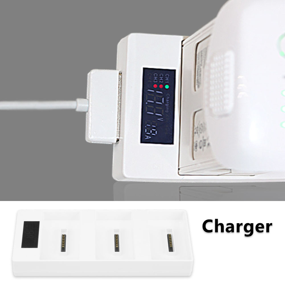 Multi Charging Hub Intelligent Battery Charger For Rc Dji Phantom 4 Drone Co
