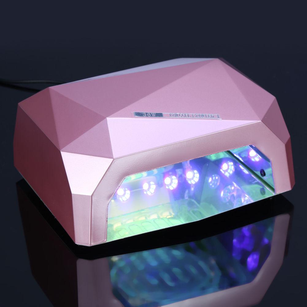 36w Led Nail Light Uv Lamp Manicure Dryer Curing Gel Polish Art Printed Circuit Board Production Using Ccfl Diamond Shape Machine For