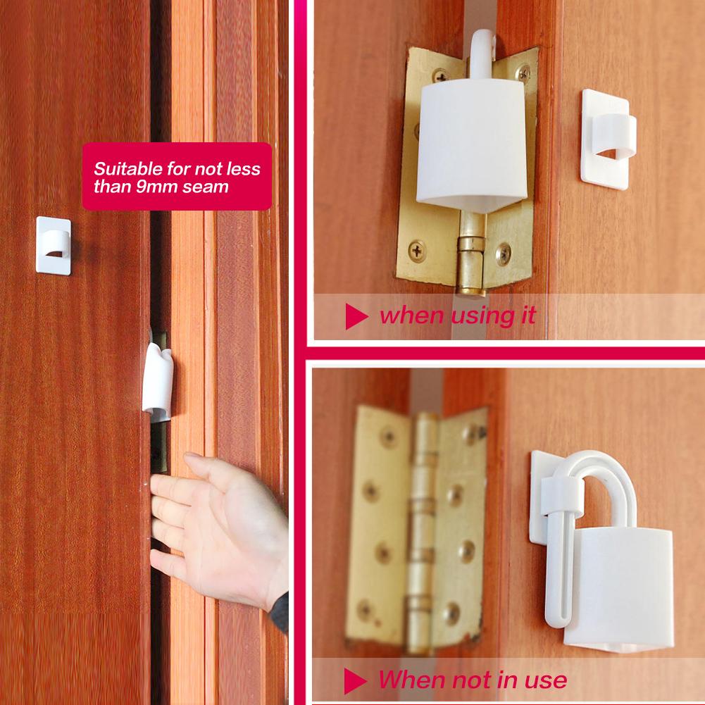 2x Baby Children Safety Door Stop Anti Finger Pinch Guard