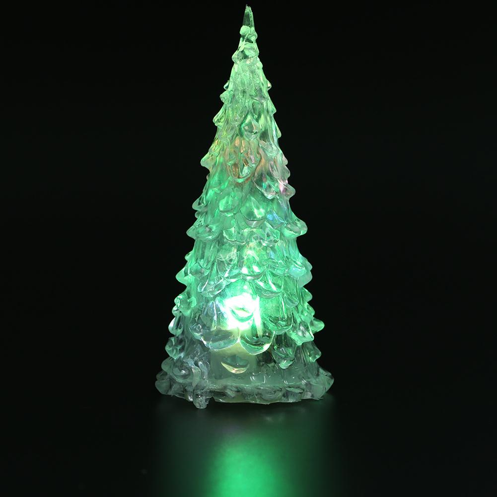 Mini LED Christmas Tree Shaped Bedoom Decor Light Night Light ...