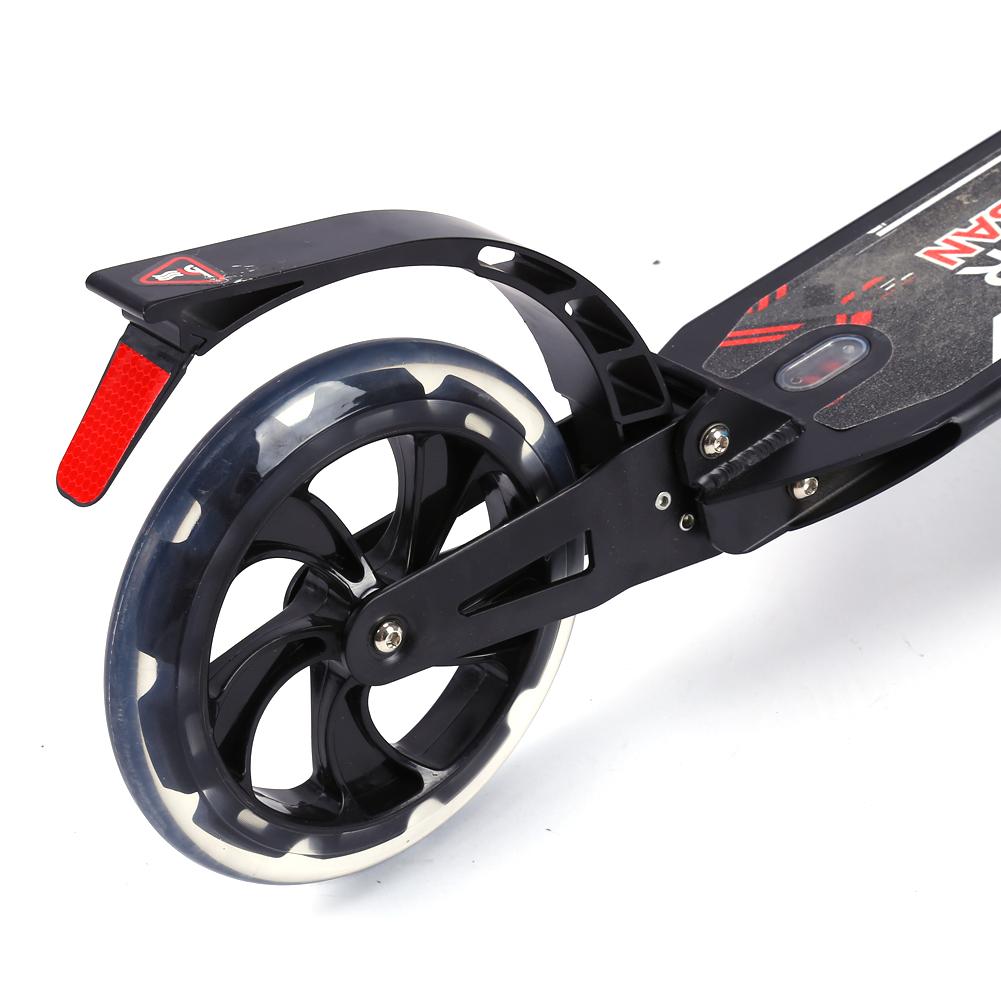 scooter faltbar kickroller tretroller cityroller 200mm. Black Bedroom Furniture Sets. Home Design Ideas