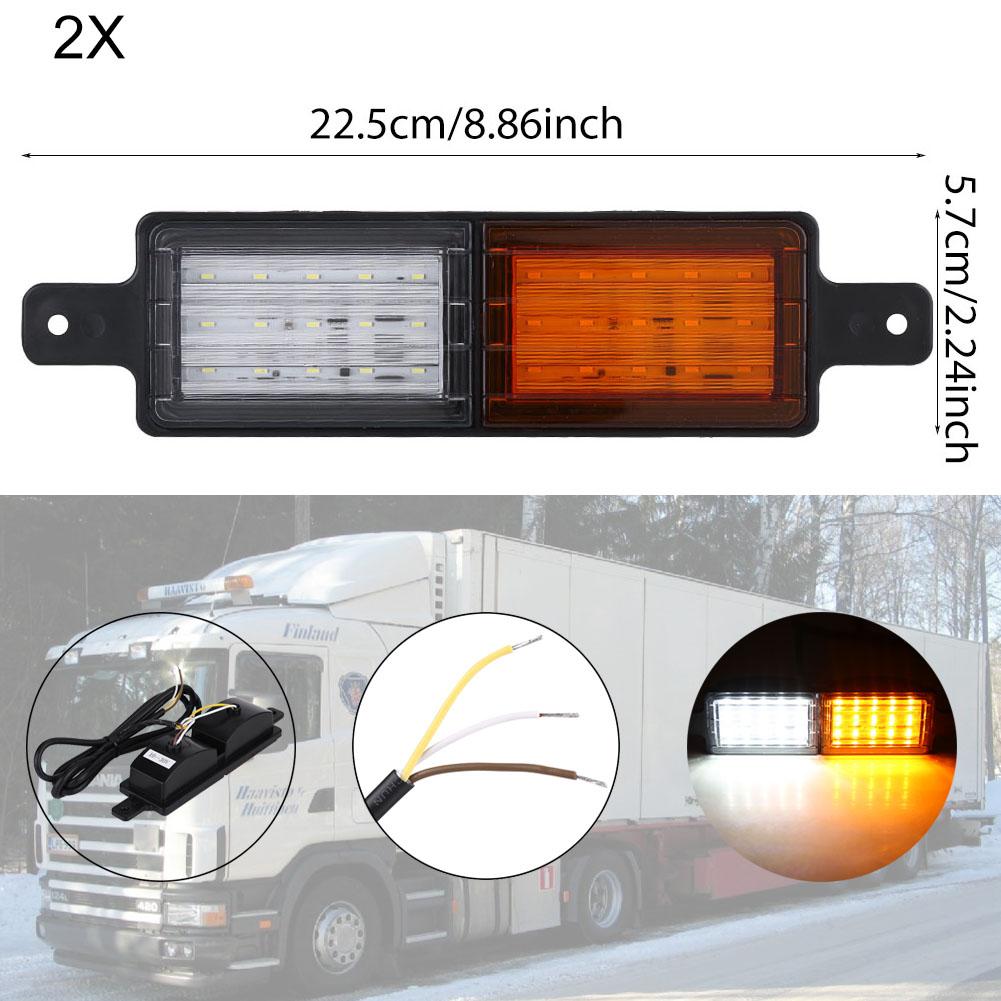 LED Rückleuchten LKW Rücklicht Seitenmarkierungsleuchte Anhänger ...