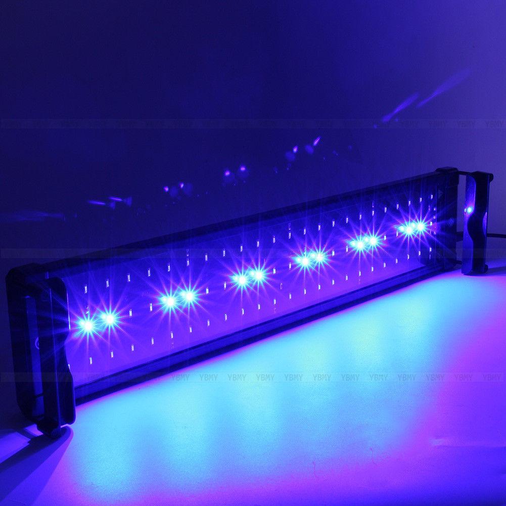 aquarium led beleuchtung aquariumleuchte aquariumlampe leuchte 30cm 118cm neu su ebay. Black Bedroom Furniture Sets. Home Design Ideas