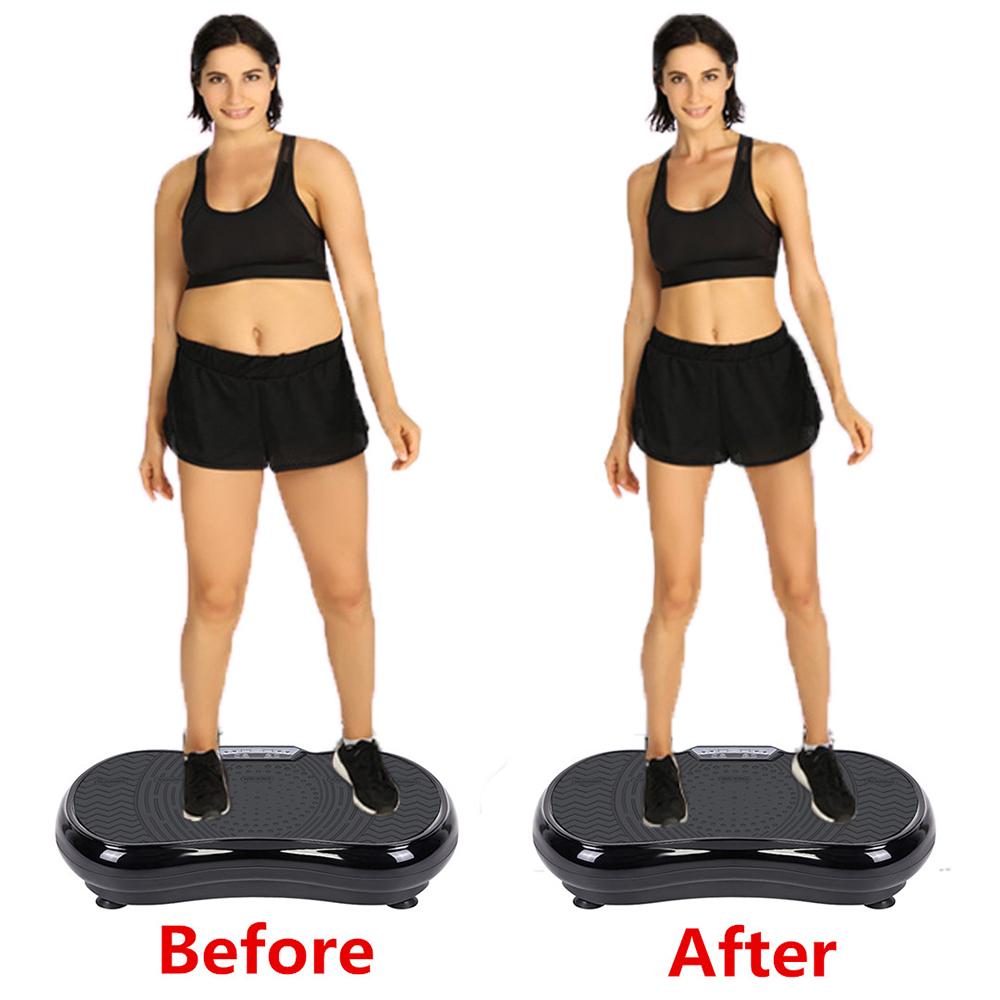 New Body Vibration Machine Plate Platform Massager Fitness