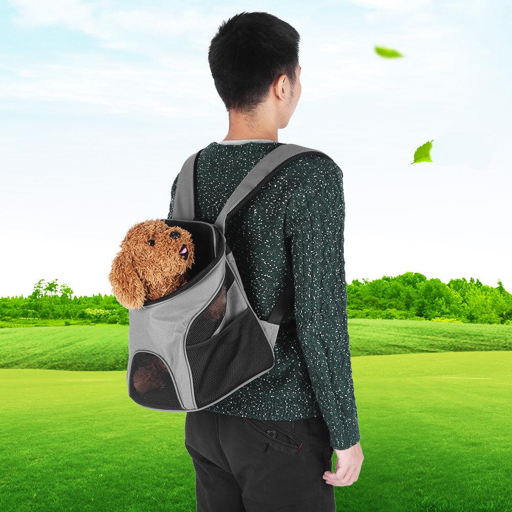Outdoor pet dog cat puppy carrier mesh comfort travel tote shoulder outdoor pet dog cat puppy carrier mesh comfort travel tote shoulder bag backpack fandeluxe Gallery