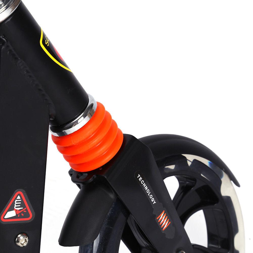 scooter roller tretroller cityroller klappbar 200mm r der. Black Bedroom Furniture Sets. Home Design Ideas