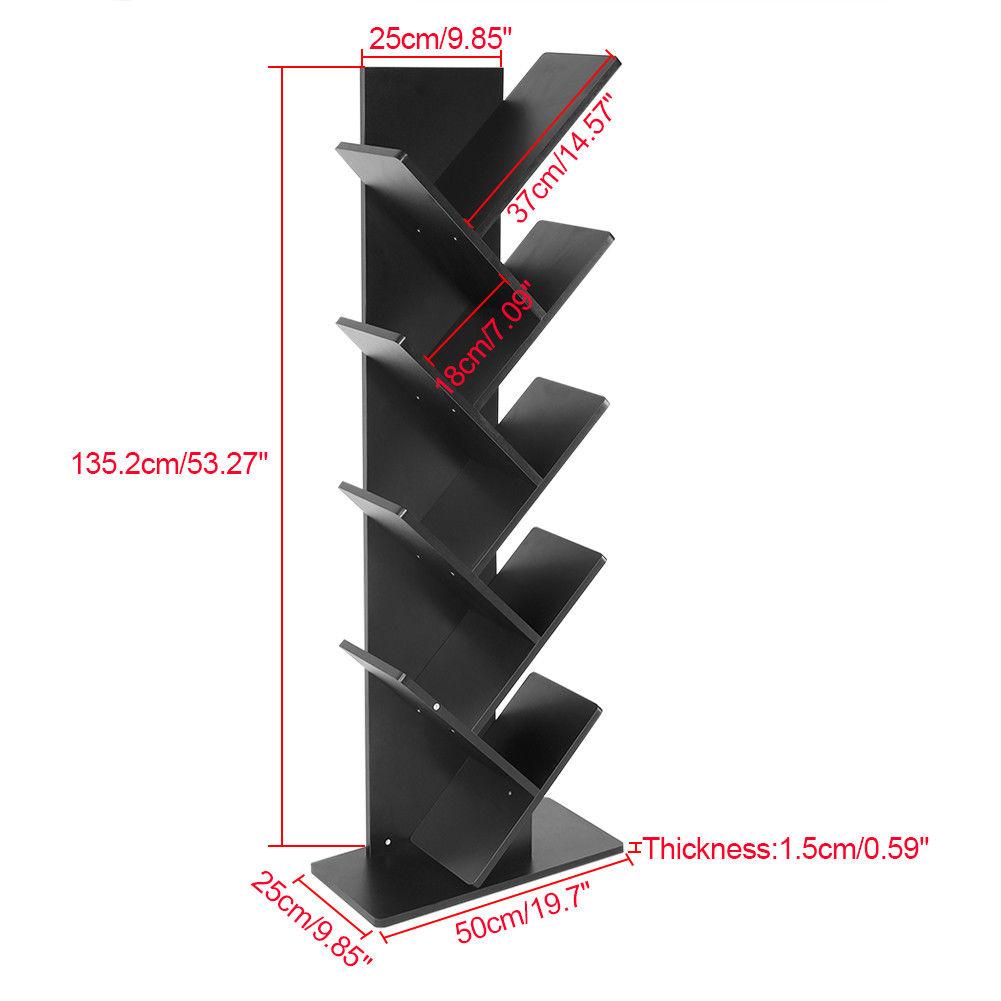 b cherregal cd dvd st nder wandregal h ngeregal b roregal aktenregal good 03 ebay. Black Bedroom Furniture Sets. Home Design Ideas