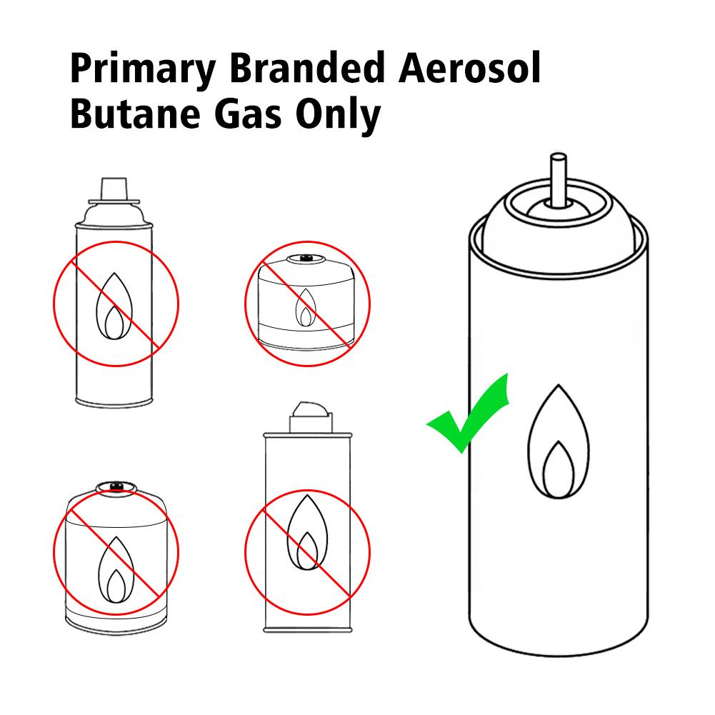 Hot Outdoor Flame Gun Gas Butane Blow Torch Burner Welding Soldering Line Diagram Lighter Es1