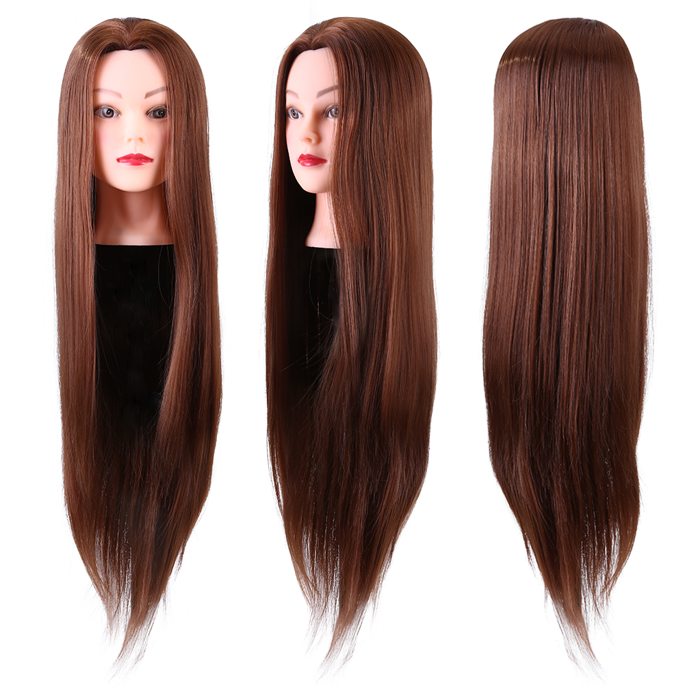 details about practice training head long hair salon model hairdressing mannequin doll us