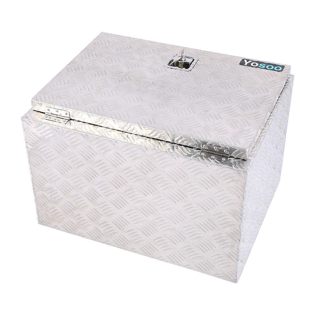 alu riffelblech deichselbox alubox staubox werkzeugkasten f r pkw anh nger al 01 ebay. Black Bedroom Furniture Sets. Home Design Ideas