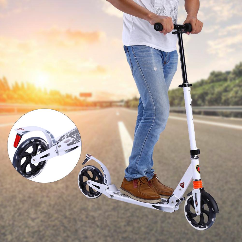 scooter cityroller tretroller klappbar roller 20cm wheel. Black Bedroom Furniture Sets. Home Design Ideas
