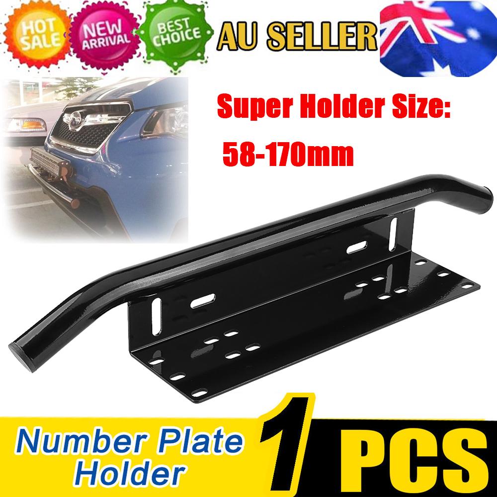 Number Plate Bullbar Frame For Driving Light Bar Mount Mounting ...