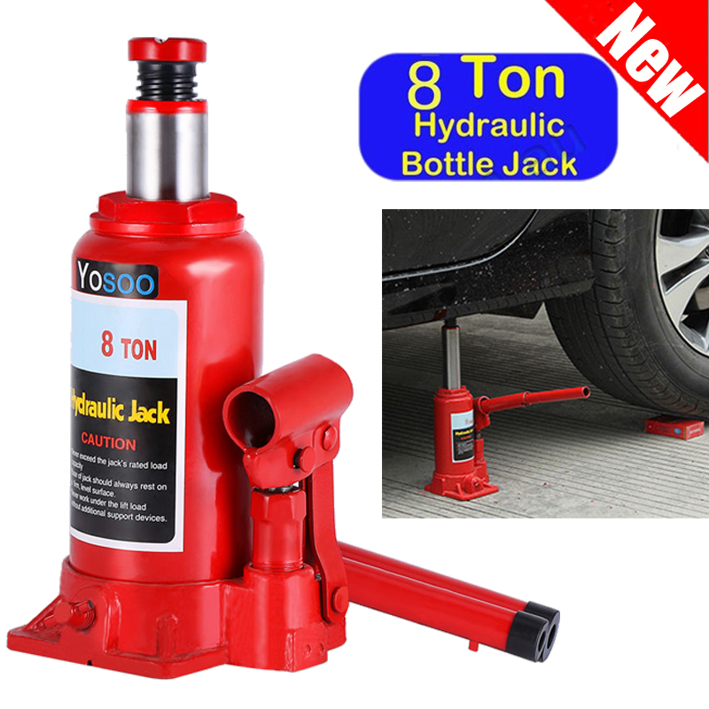 Small Hydraulic Lift : Ton mini portable floor jack stand vehicle car garage