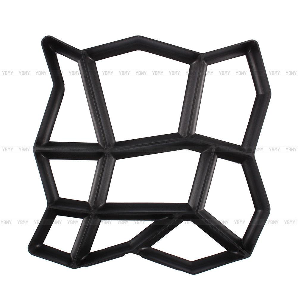 4x diy pflasterform pflastermacher schalungsform gie form. Black Bedroom Furniture Sets. Home Design Ideas