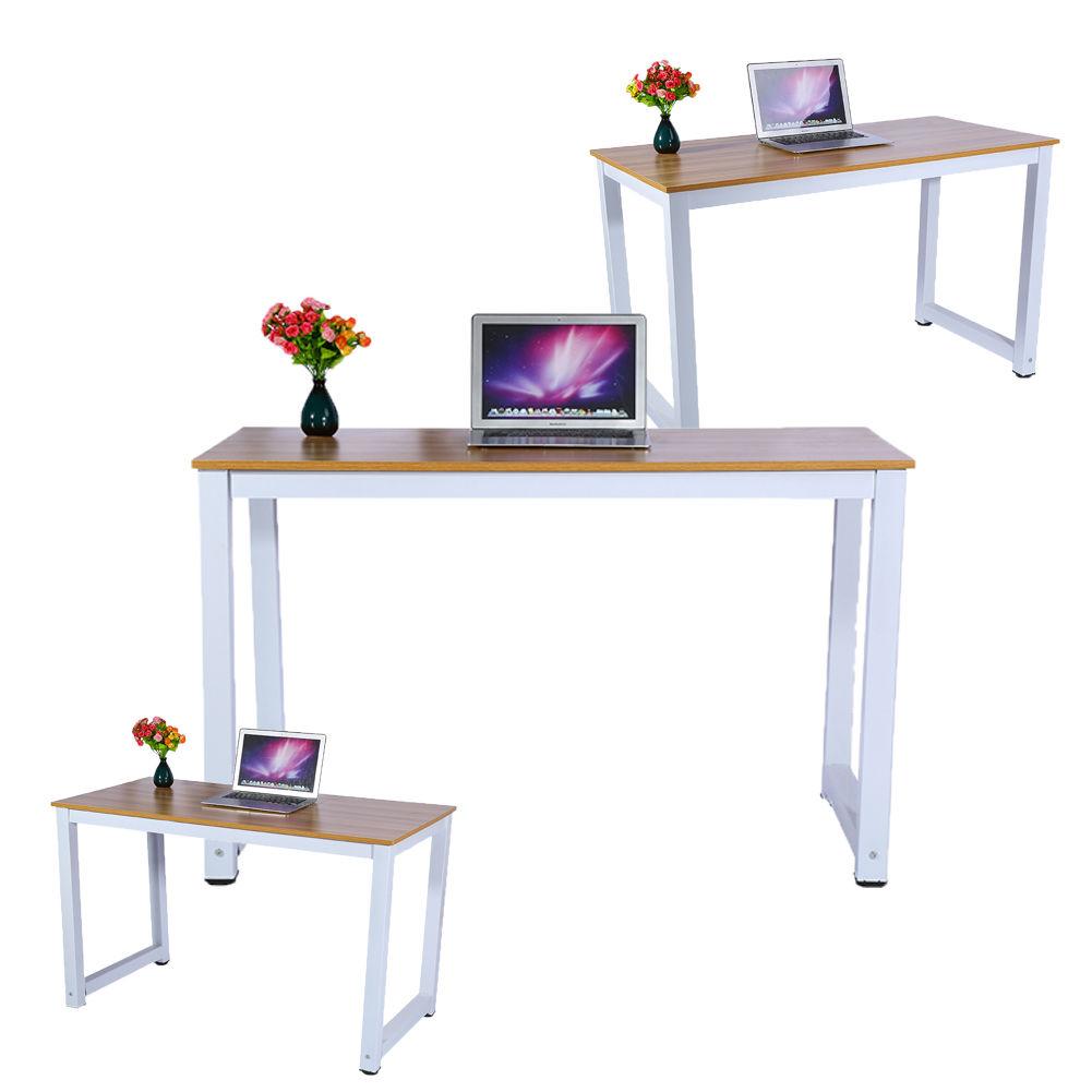computertisch pc schreibtisch arbeitstisch b rotisch eckschreibtisch holz metall ebay. Black Bedroom Furniture Sets. Home Design Ideas
