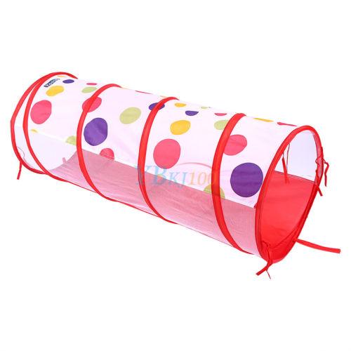 kinderzelt tunnel b llebad mit basketball box spielzelt krabbeltunnel shop 9 ebay. Black Bedroom Furniture Sets. Home Design Ideas