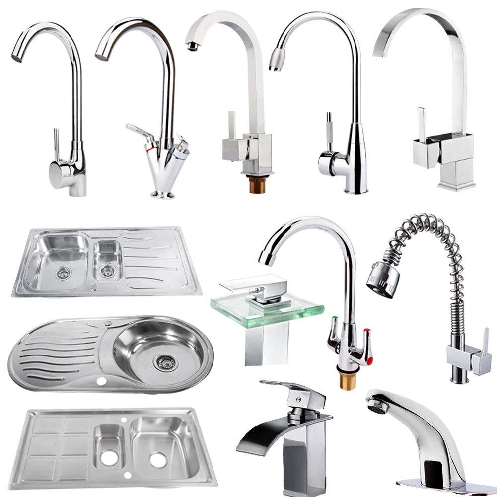 Edelstahl Küchenspüle Spüle Mischbatterie Wasserhahn Küche Bad ...