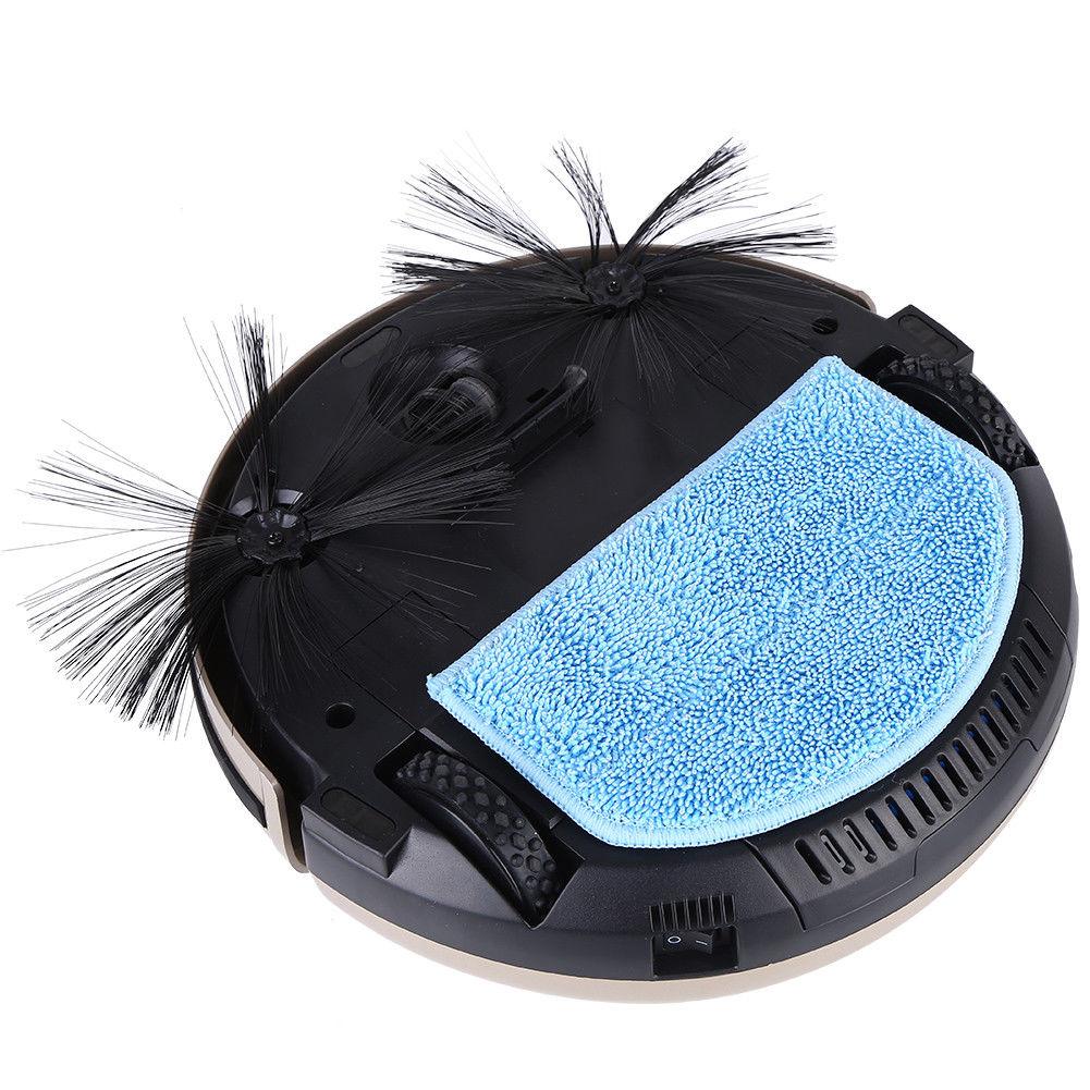 vollautomatisch staubsaugerroboter saugroboter staubsauger bodenwischer li 01 ebay. Black Bedroom Furniture Sets. Home Design Ideas