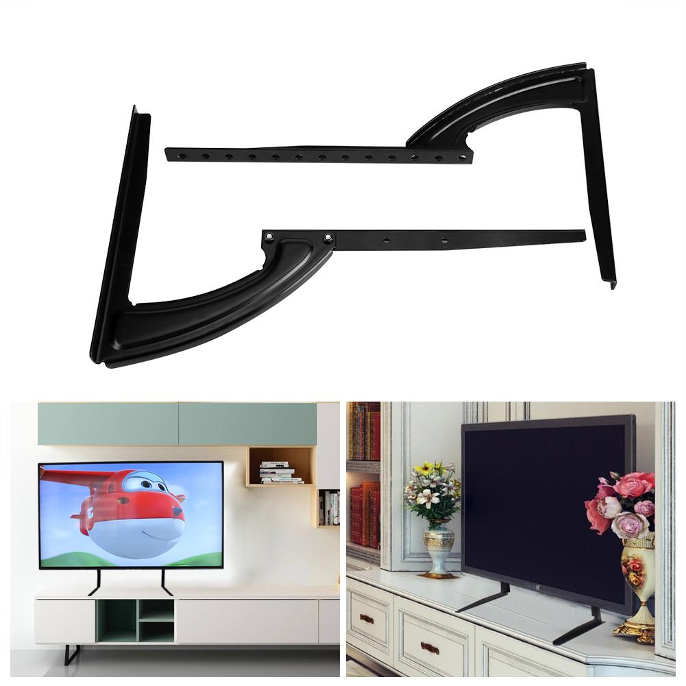 tv fernseher st nder standfu halterung h henverstellbar display f r 26 37 gd ebay. Black Bedroom Furniture Sets. Home Design Ideas