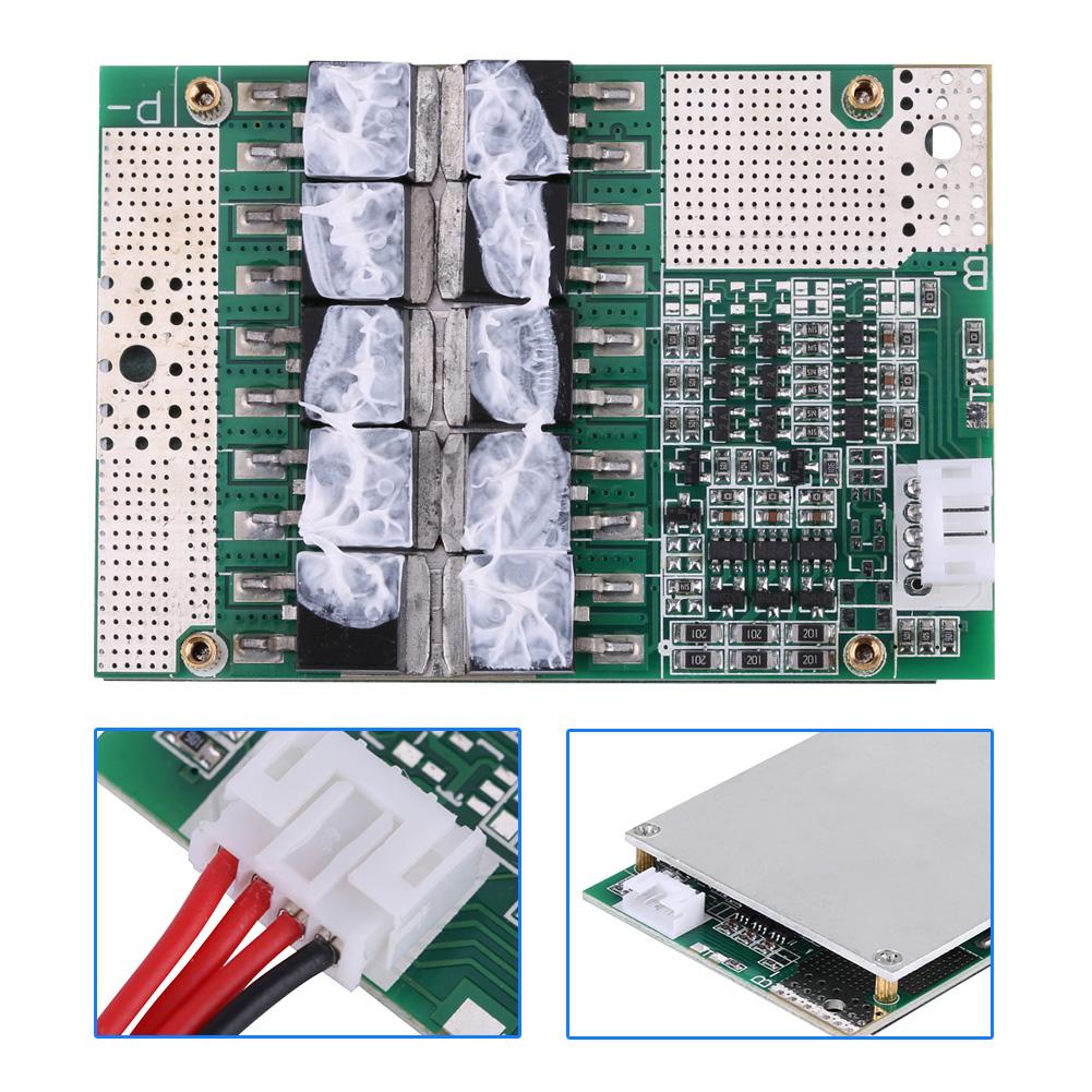3S 12.6V 50A Lithium Li-ion Battery Protection Board Balance