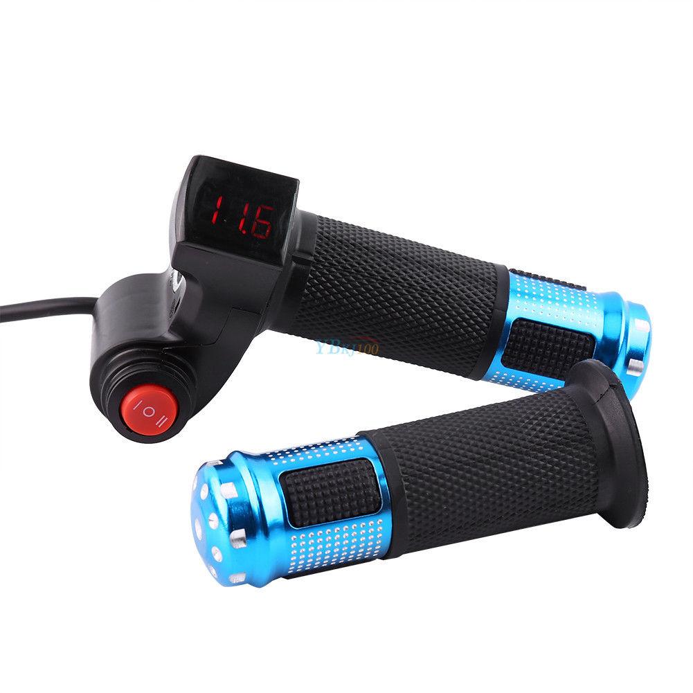 12v 99v Scooter Electric Bike Ebike Throttle Grip Handlebar Led Evo E 24v Wiring Diagram 36v 48v Display Js For