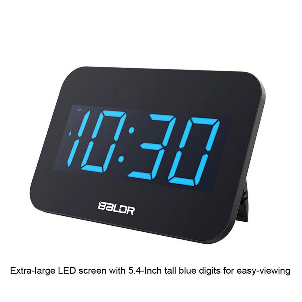 Das Bild Wird Geladen Wecker Digital Tischuhr Hintergrundbeleuchtung LED Uhr  Schlafzimmer Buero